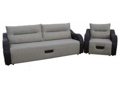 Диван еврокнижка Сильва и кресло-кровать