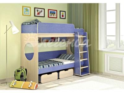 двухярусная детская кровать Легенда 7 лен