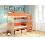 Кровать Легенда 7 оранж