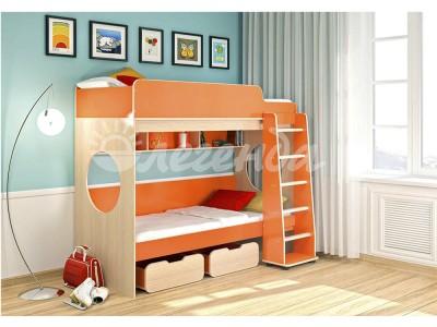 Кровать чердак  Легенда 7 оранж