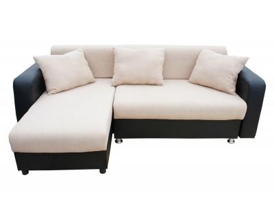Угловой диван еврокнижка МАДРИД Серый