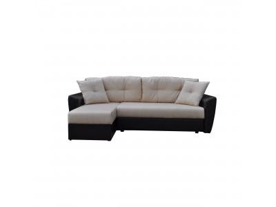 Угловой диван еврокнижка АМСТЕРДАМ Серый
