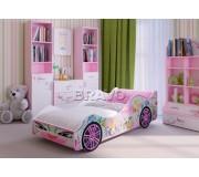 Леди - кровать машинка