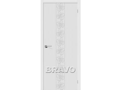 Двери Граффити-7 (Белый)