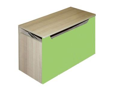 """Ящик для игрушек """"Жили-были"""" зеленый"""
