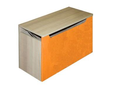 """Ящик для игрушек """"Жили-были"""" оранжевый"""