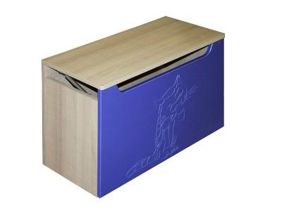 """Ящик для игрушек """"Жили-были"""" синий"""