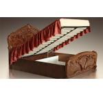 """Кровать деревянная """"Карина-5"""" с подъемным механизмом"""